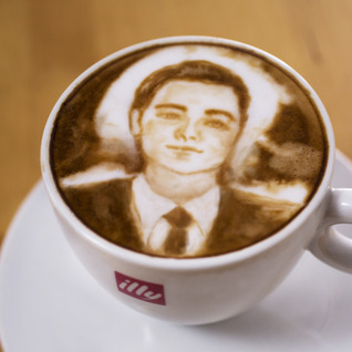 Wolf of Wall Street Coffee Foam