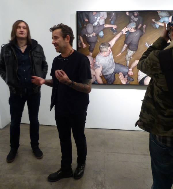 Dan Witz at Reception