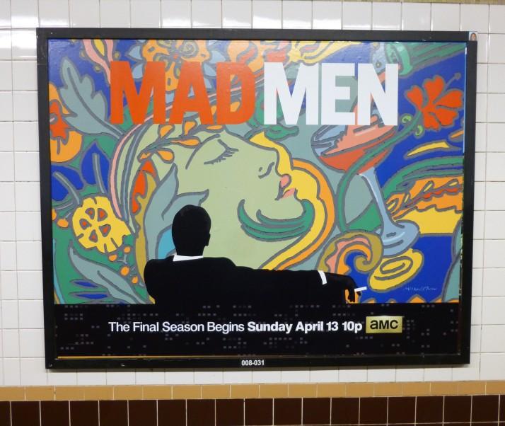 Mad Men Season 7 Subway Ad