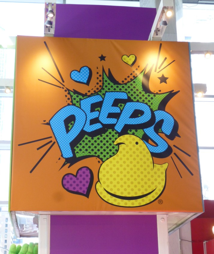 Chick Peeps Sign