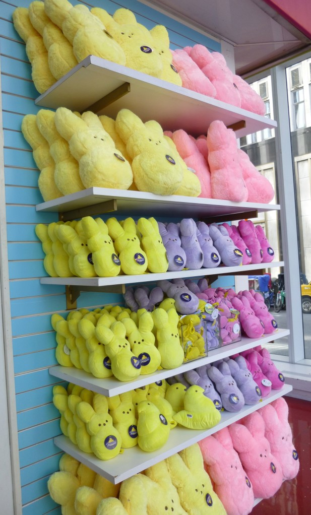 Wall of Plush Peeps