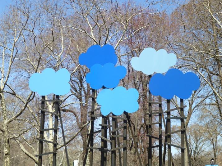 Olaf Breuning Clouds