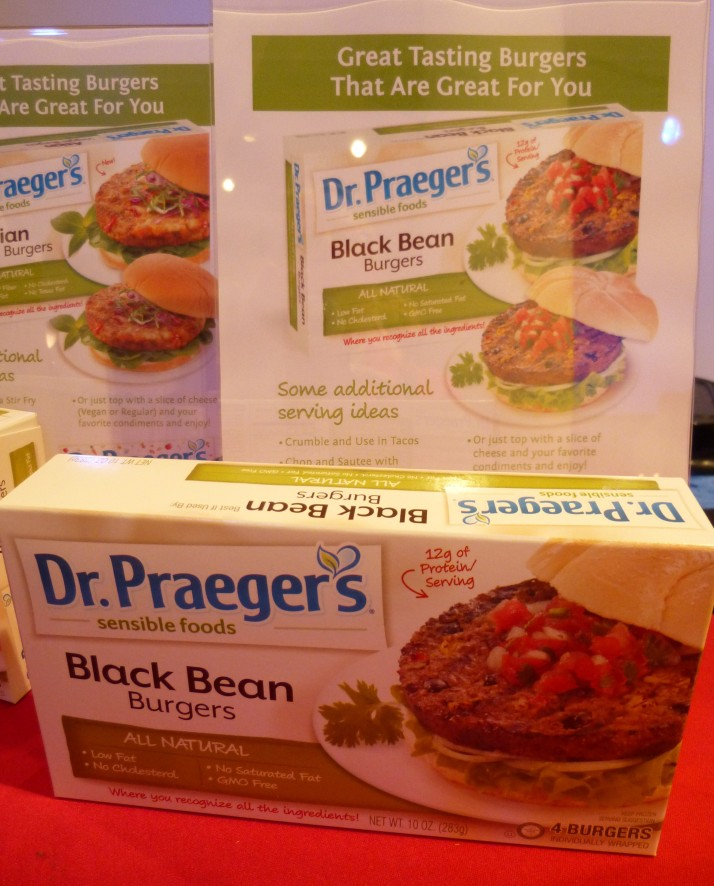 Dr Praeger's Black Bean Burger