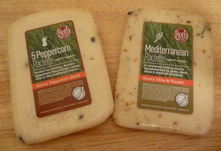 Roth Mediterranean and 5 Peppercorn Raclettte