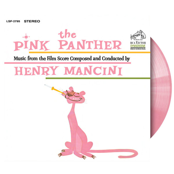 Pink Panther ST on Pink Vinyl