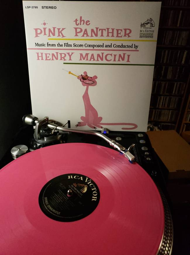 pink panther st pink vinyl