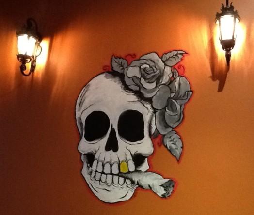 Skull on Wall