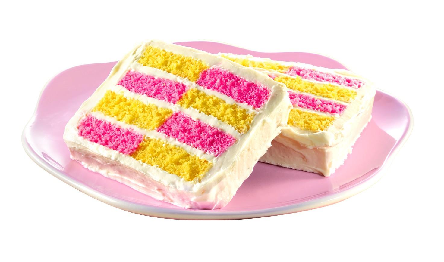 Spring Velvets Checkerboard Cake