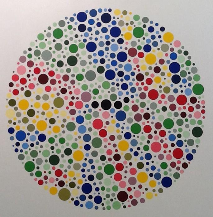 Paul Kolker: Ishidots Circulare Blanc, OP.1, 2014,