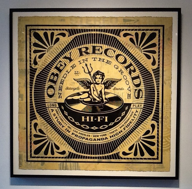 Obey Records By Shepard Fairey