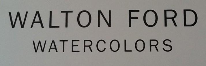 Walton Ford Signage