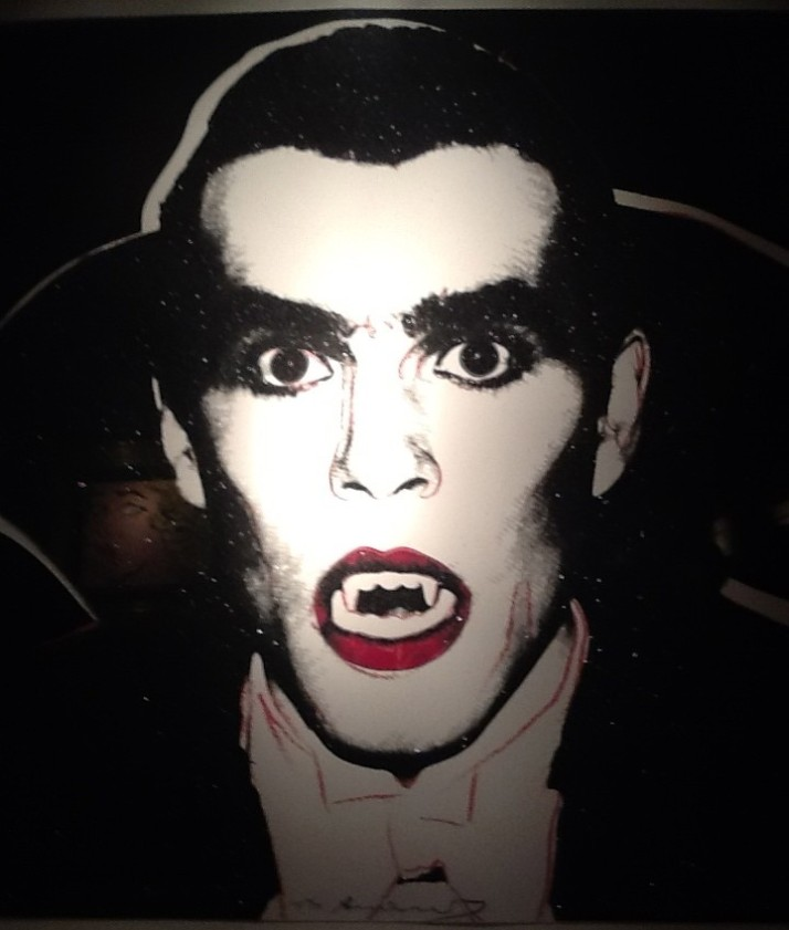 Andy Warhol, Dracula from Myths Series, 1981