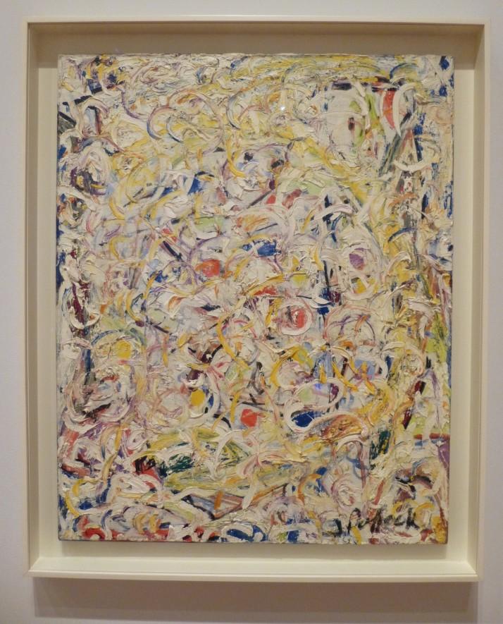 Jackson Pollock Shimmering Substance