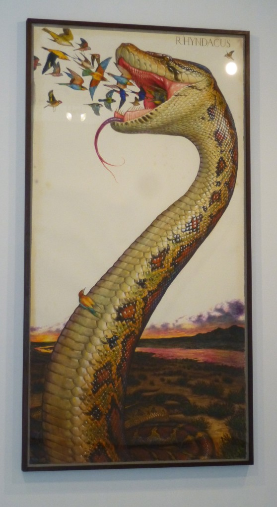 Snake with Birds