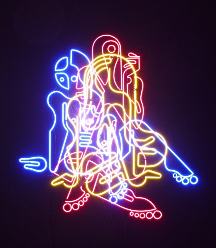 Ryan McGinness Neon Nude Multi