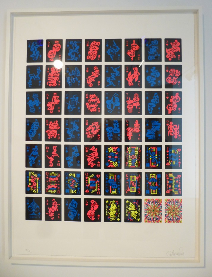 Ryan McGinness Neon Women Parts