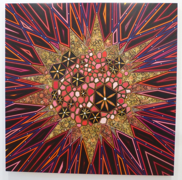 Black Star By Fred Tomaselli