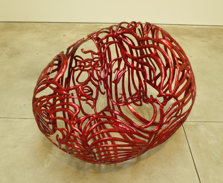 The Heart By Ghada Amer