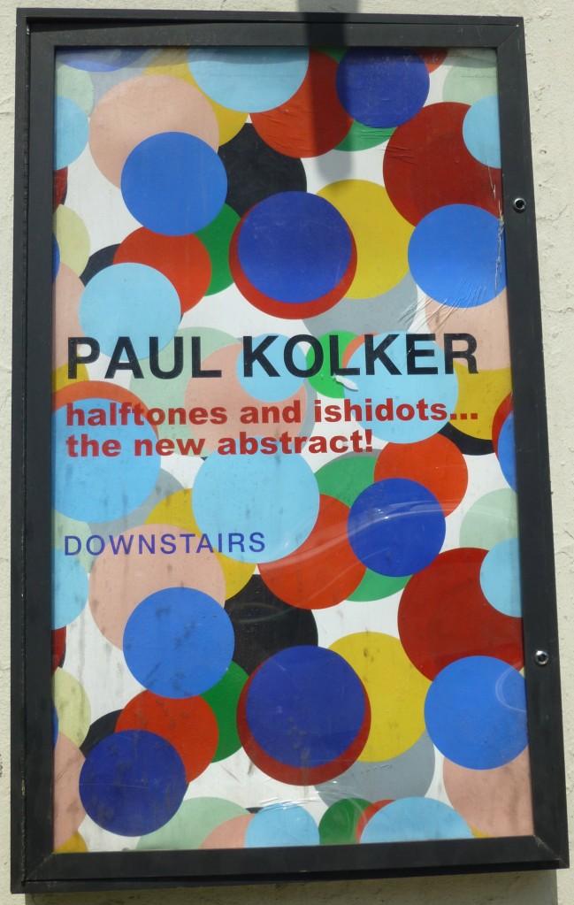 Paul Kolker Signage