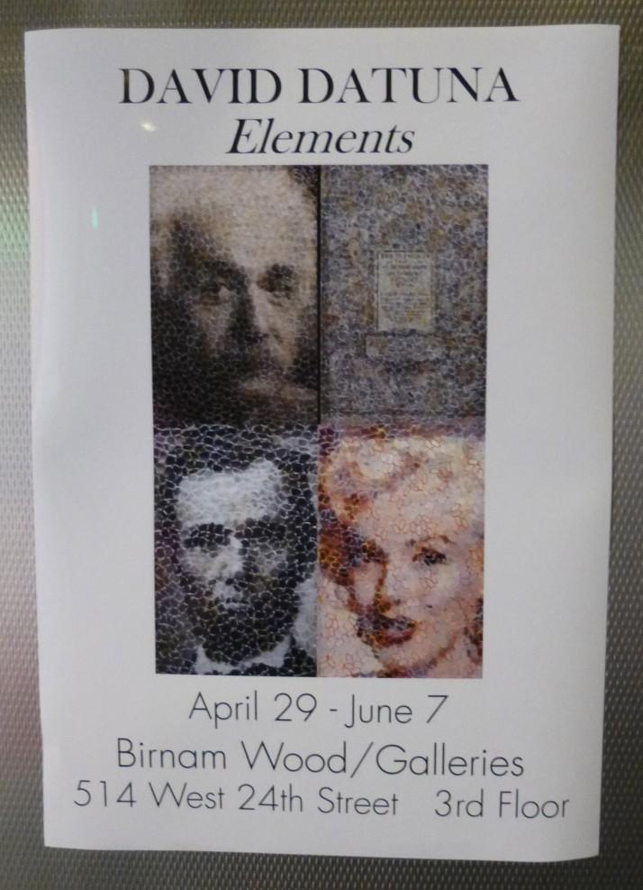 David Datuna Elements Signage