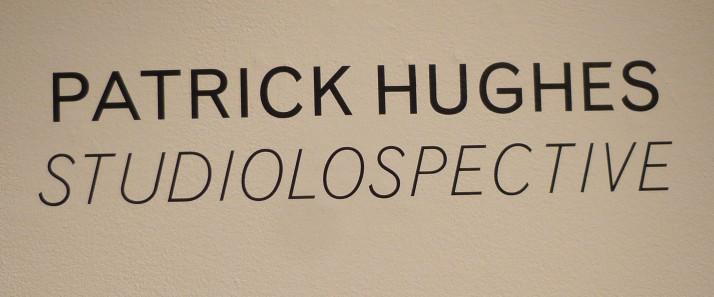 Patrick Hughes Studiolospective Signage