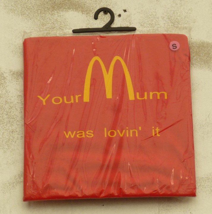 You Mum Was Lovin It