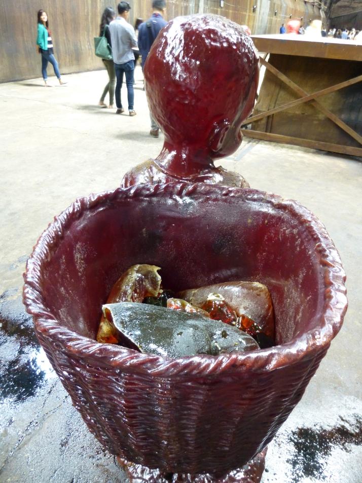 Sugar Crystal Chunks in Basket