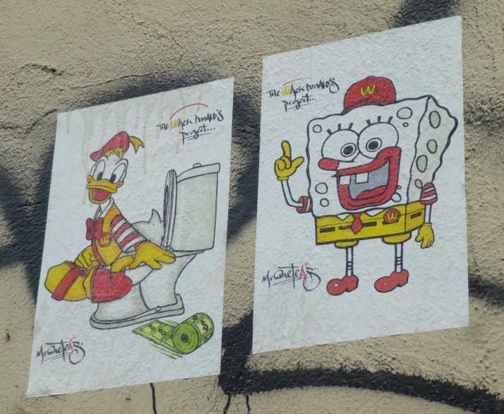 Wack Donalds Project Sponge Bob Donald Duck