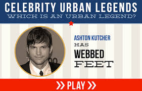 Ashton Kutcher Urban Legend