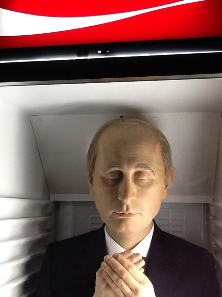 Putin Close Up