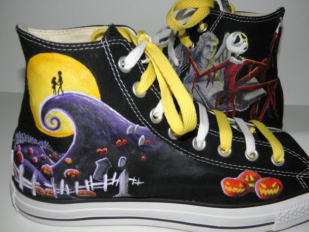 The Nightmare Before Christmas Sneakers | The Worleygig