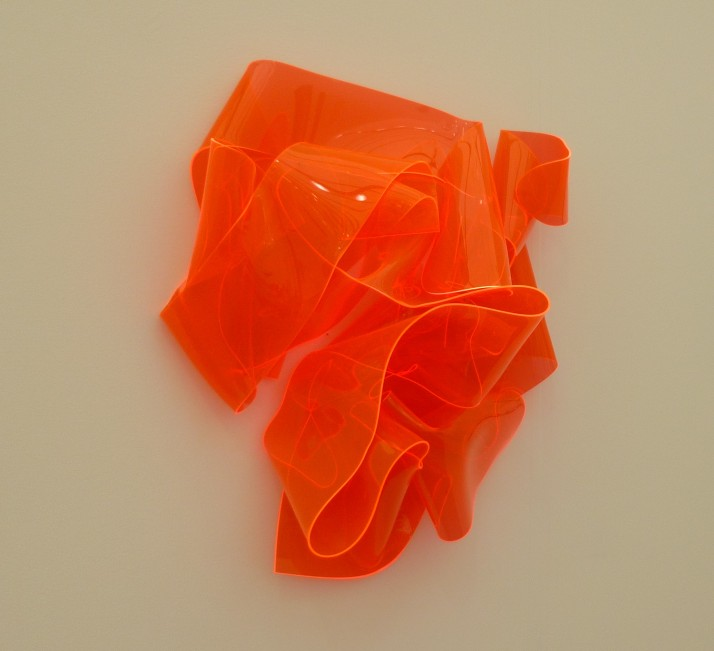 Fluorescent Melted Plastic