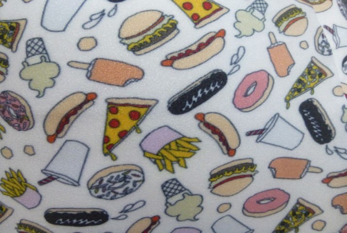 Me Undies Fast Food Close Up Detail