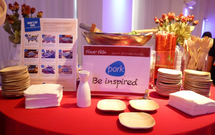 Pork Booth Display