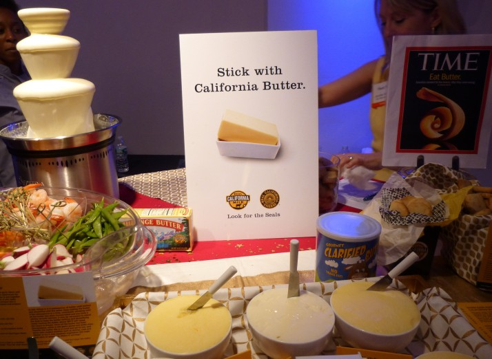 California Butter Display