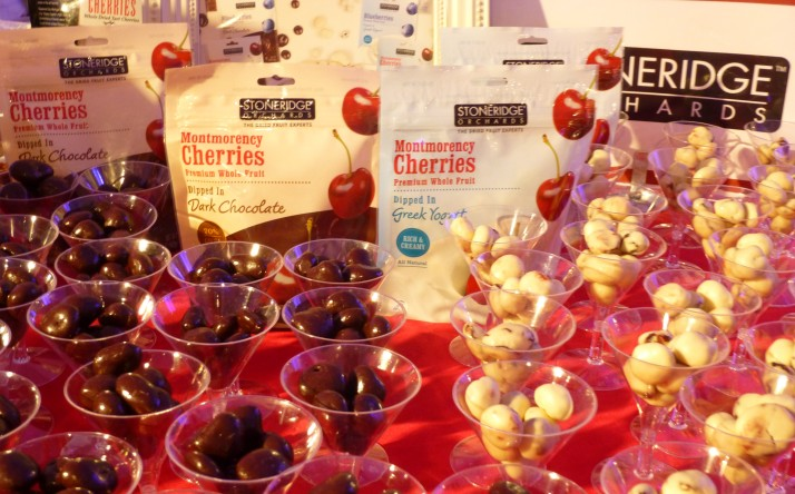 Dark Chocolate and Yogurt Covered Cherries