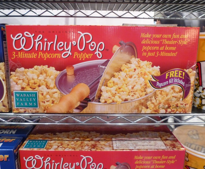 Whirley Pop Popcorn Machine