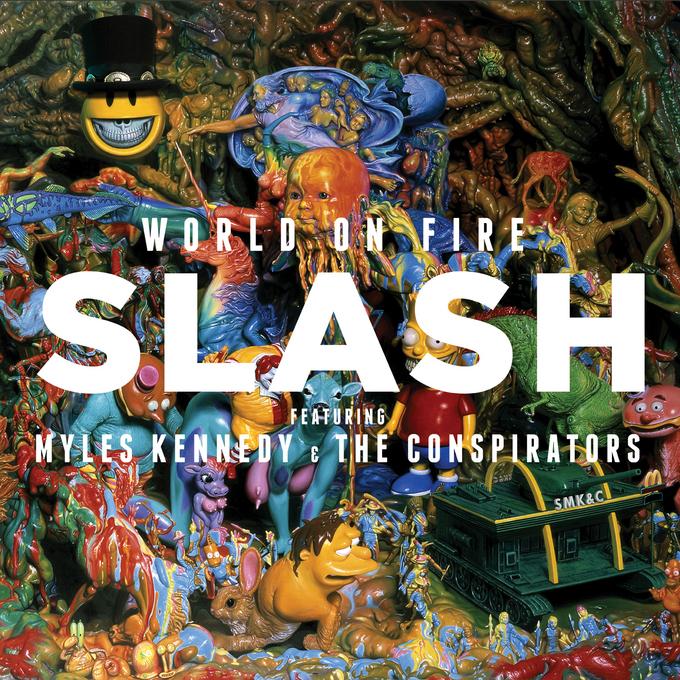 Ron English Slash Cover Artwork