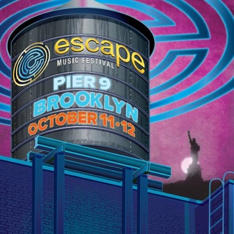 Escape Music Festival Poster