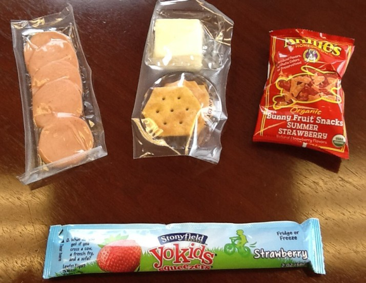 Half Time Lunch Contents