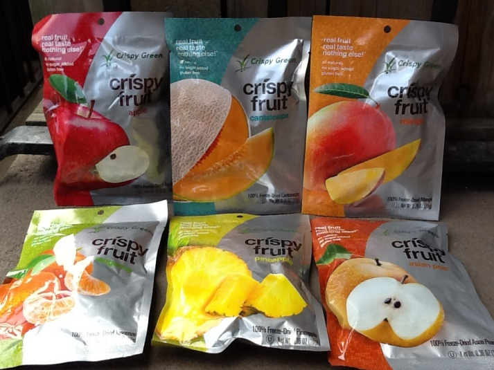 Crispy Fruit Assortment