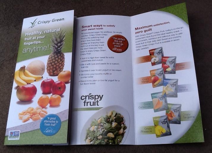 Crispy Green Pamphlet