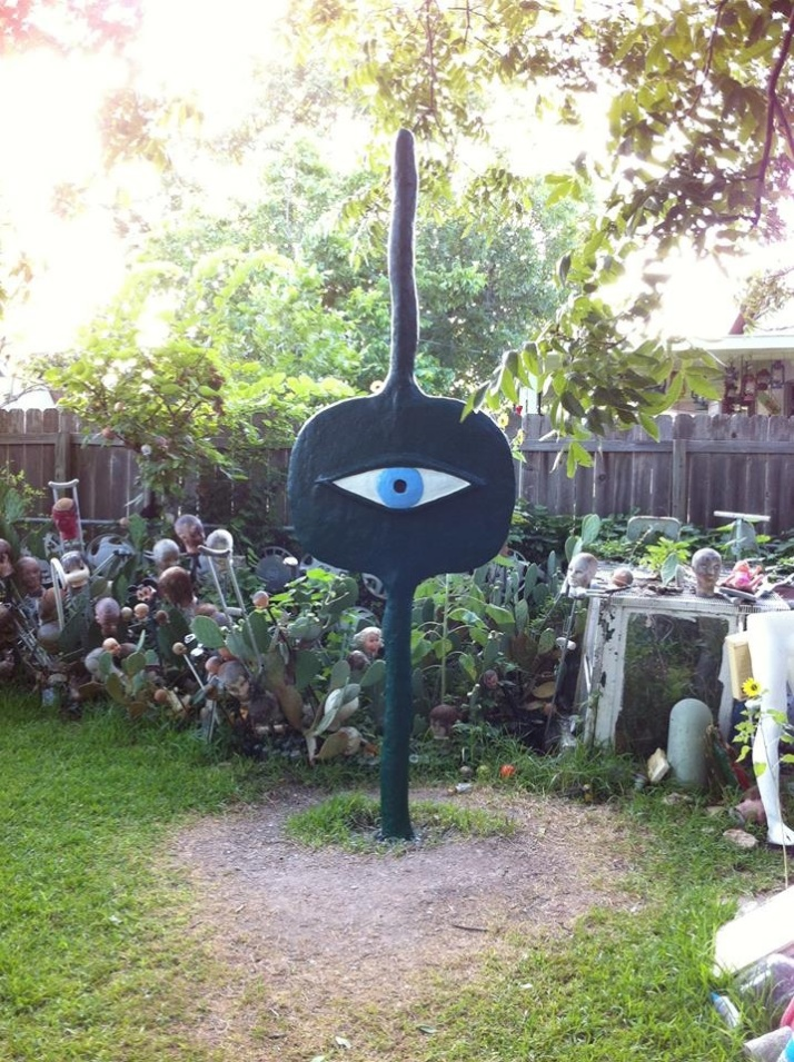 Alice Cooper Eye Sculpture
