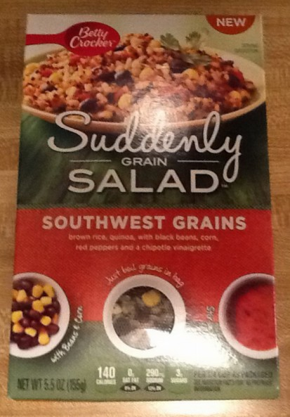 Suddenly Salad Front of Box