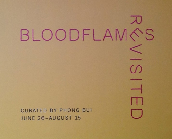 Bloodflames Exhibit Signage