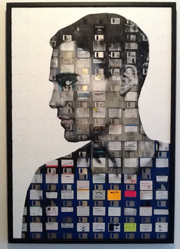 Nick Gentry Self Portrait Number 5