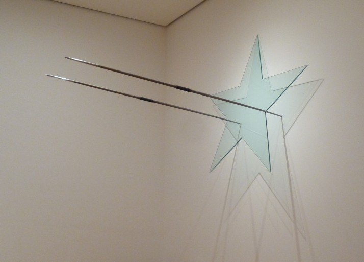 Gilberto Zorio Crystal Star with Javelins