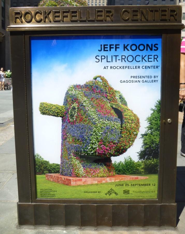 Koons Split Rocker Poster