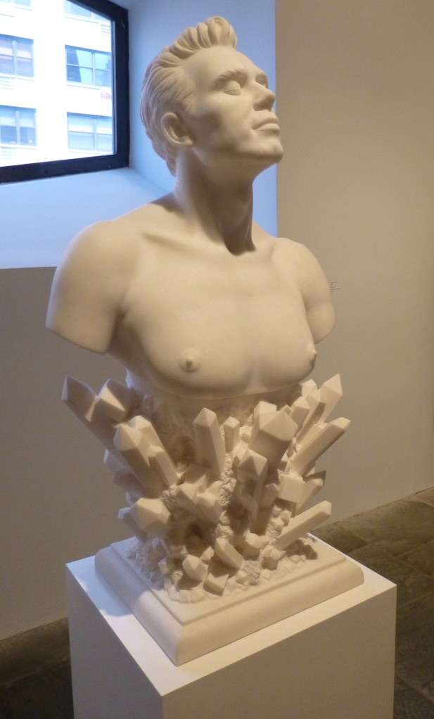 Koons Bust with Crystals