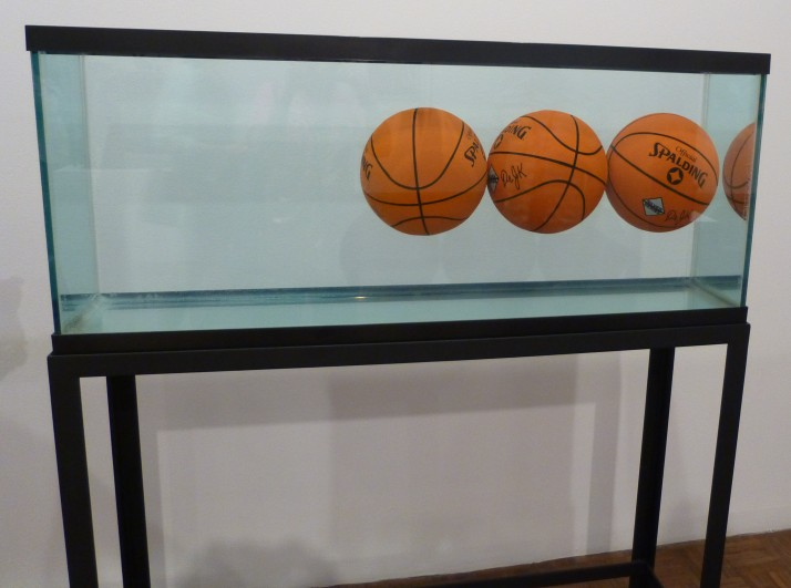 Basketballs in a Tank